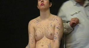 hotwaxed fetish babe punished