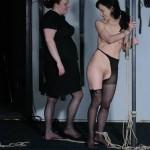 Elise Graves in Lesbian BDSM